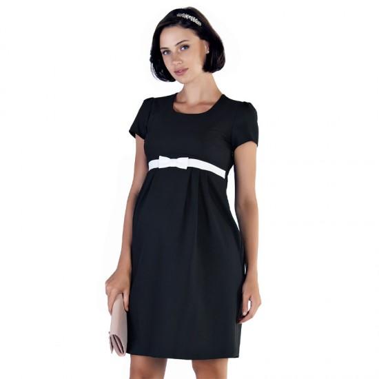 Robe noire de grossesse Dioné