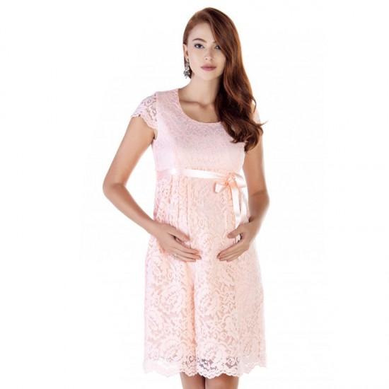 Robe dentelle de grossesse Daphné 4
