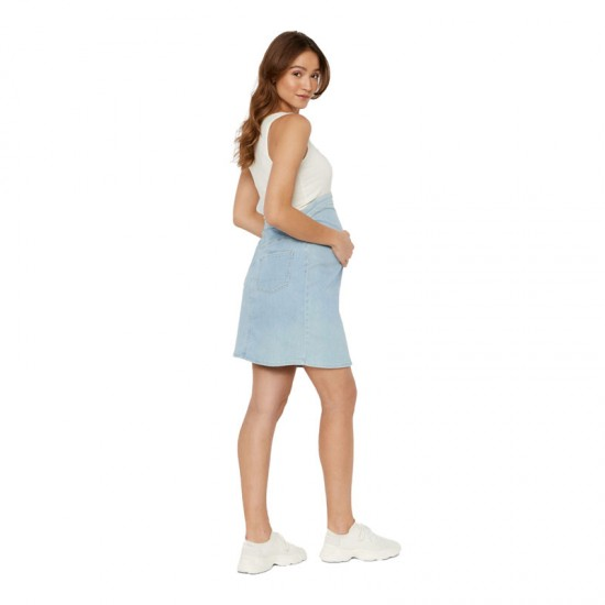 Jupe en jean de grossesse MLVILLA Mamalicious 4