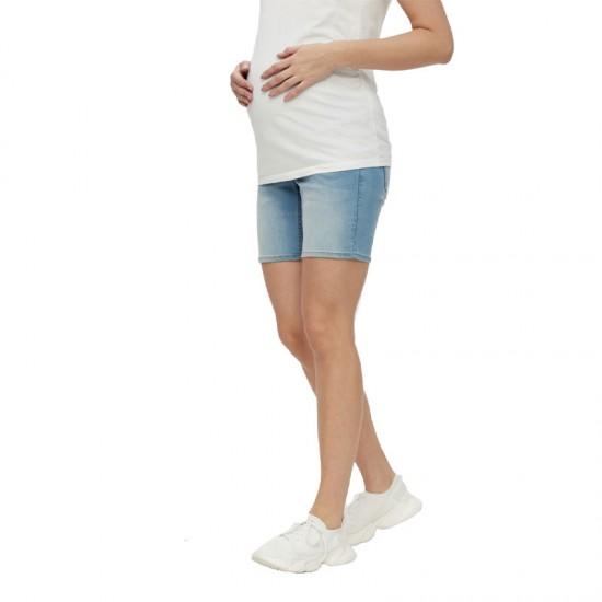 Short en jean de grossesse MLFIFTY Mamalicious 2