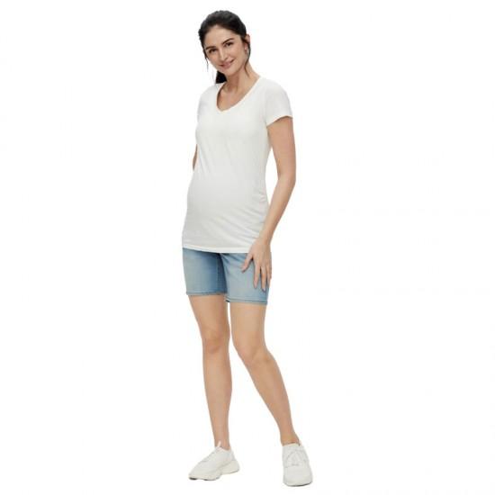 Short en jean de grossesse MLFIFTY Mamalicious 3