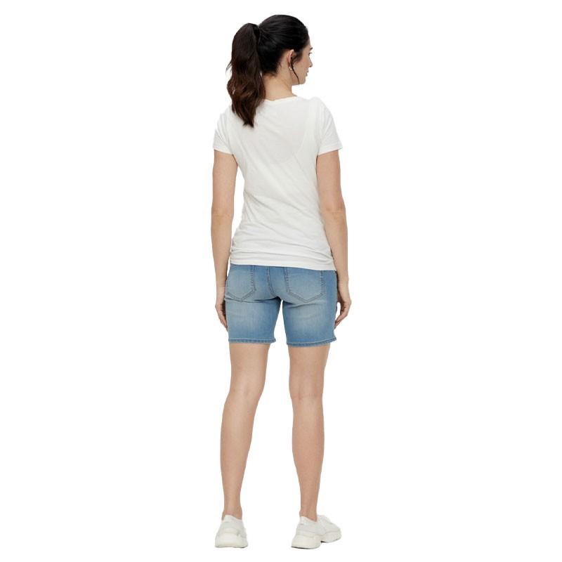 Short en jean de grossesse MLFIFTY Mamalicious 6