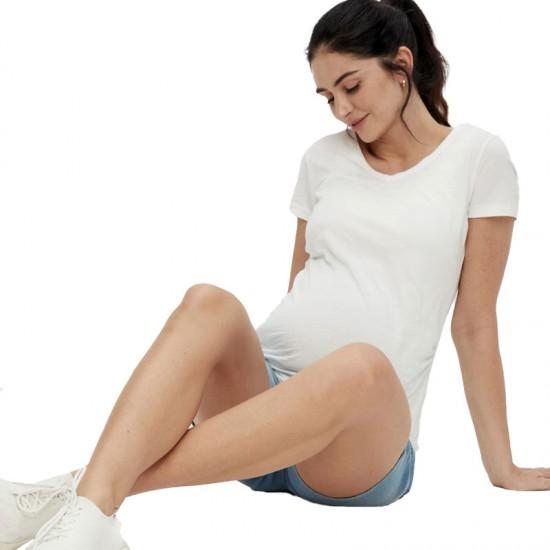 Short en jean de grossesse MLFIFTY Mamalicious 7