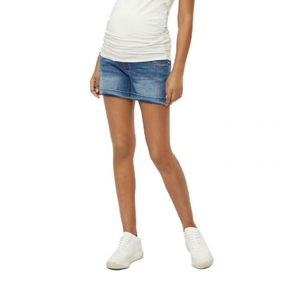 Short de grossesse en jean Mamalicious MLYORK 2