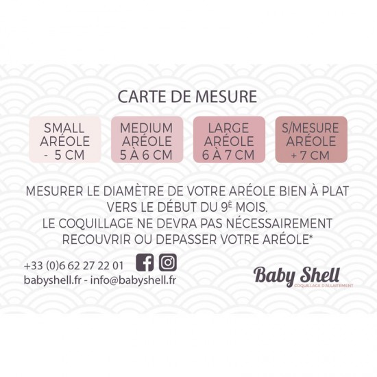 Coquillages d'allaitement Baby Shell 7